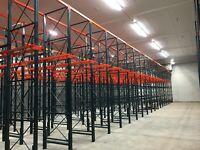 Drive-In Pallet Rack (refurbished) - 180 pallet positions
