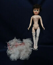 1950's Vintage Hard Plastic and Vinyl Ballerina Doll All Original