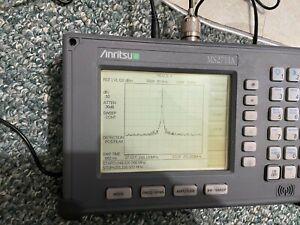 Anritsu MS2711A Handheld Spectrum Analyzer 100 kHz to 3 GHz .