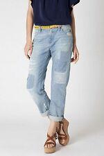 NWT Anthropologie Patchwork Gable Boyfriend Denim Jeans Holding Horses 28 6