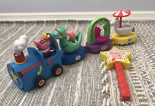 Peppa Pig Magical Parade Train Floats Lot Daddy George Sound & Movement Works