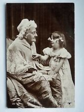 Nonna Bambina nipote Grandmother child old postcard AK vecchia cartolina