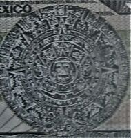 MEXICO 1983 Five Hundred Peso 500 Dollar UNC Aztec Calendar 1 Banknote LOW SHIP