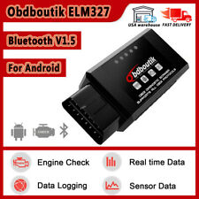 ELM327 Bluetooth V1.5 OBDII Diagnostic Scanner Auto Car Code Reader For Android