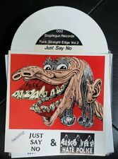 """Tesco Vee's Hate Police/Just Say No 7"""" Minor Threat Meatmen The Fix PUNK KBD"""