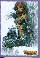 Breygents Witchblade 2014 Purple Border Parallel Base Card #25