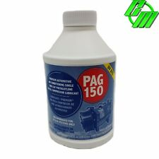 A/C Compressor Refrigerant Oil PAG 150 w/ UV Dye Lubricant Glycol 8oz Bottle