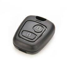 2 BUTTON REMOTE KEY FOB CASE FOR PEUGEOT 106 107 206 207 307 406 407 CBD102 WH