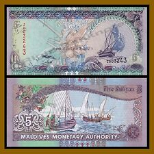 Maldives 5 Rufiyaa, 2011 P-18e Replacement Unc
