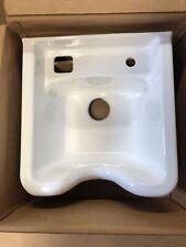 Belvedere Alpha 3800 Cast Iron, Porcelain Shampoo Bowl -White  GAR1136-PAL4