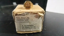 General Mills Lone Ranger USN Secret Compartment Ring Navy BOXED
