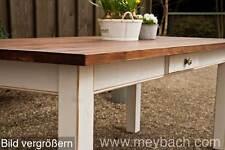 Esstisch Massivholz Landhaustisch Esszimmer Küche 120 cm M04 shabby antik matt