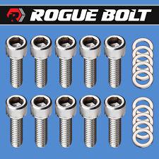 Sbm Valve Cover Bolts Stainless Steel Kit Small Block Mopar 273 318 340 360