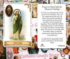 Saint St. Jude - Patron of those Facing Difficult times- Plastic stock Holy Card