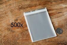 500 Bolsa De Celofán OPP Plástico Auto Adhesivo pantalla Peel & Seal Aprox .9x14cm