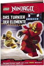 Fachbuch LEGO® Ninjago™, Das Turnier der Elemente, TOP Buch mit vielen Bildern