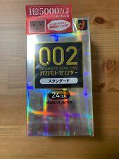 Okamoto 002 Condom - 1Box24pcs Made In Japan