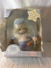 New Limited Edition 2000 PRECIOUS MOMENTS BABY COLLECTION Doll BASEBALL PLAYER