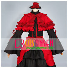 Cosonsen Anime K Kushina Anna Cosplay Lolita Dress Costume All Size Custom Made