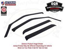 EGR Smoke In-Channel Window Visor 4pc Set 2013-2019 Ford Escape 573541