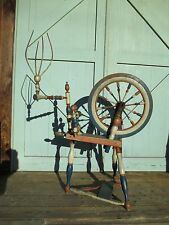 SPINNING WHEEL can be delivered Americana FOLK ART - rare form - of Patriotism