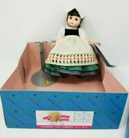 """Vintage 1985 Madame Alexander 8"""" ITALY International Doll with  Box #553"""