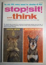 Stop! Sit! And Think - Charles Eisenmann - PB - Dog Training - Littlest Hobo