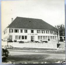"""photo ancienne . Suisse . hôtel """" LA VUE DES ALPES""""  1960"""