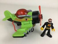 Imaginext Sky Racer Sea Stinger Airplane Wing Flapping Action 2009 Fisher Price