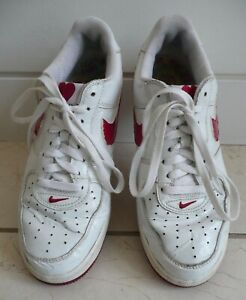 Womens Nike Air Force 1 UK Size 7 Limited Edition 2004 Valentine Heart Trainers
