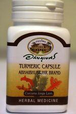 Organic Turmeric 400mg 60 Veg Capsules -  100% Curcuma longa - No Additives