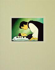 Walt Disney Snow White and the Seven Dwarfs Loves First Kiss Poster Art Print