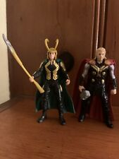 3.75 Avengers Age Of Ultron Figures Loki Thor