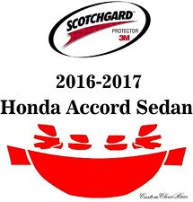 3M Scotchgard Paint Protection Film Pre-Cut Fits 2016 2017 Honda Accord Sedan