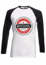 Bintang Bali Beer Music Men Women Long Short Sleeve Baseball T Shirt 1905E
