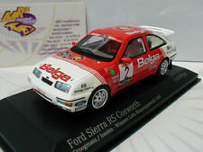 Minichamps 437878102 # Ford Sierra RS Cosworth No2 Haspengouw Rallye 1987 1:43