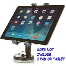 """Aidata Universal Tablet Suction Stand - Up to 10"""" Screen Support - Black"""