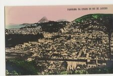 Brazil, Rio De Janeiro, Panorama Da Cidade, Tinted RP Postcard, B198