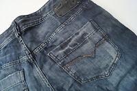DIESEL Blizz Damen Jeans Hose stretch Hüft Gr.28 W28 stone wash 008GG blau #98