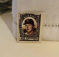 Bob Anderson 1961 Topps Stamp Cubs NM