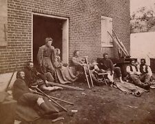 Wounded Soldiers Battle of the Wilderness Fredericksburg-8x10 US Civil War Photo