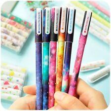 Roller Ball Pens Gel Pen Starry Pattern Multi-Colors Star Child Stantionery Set