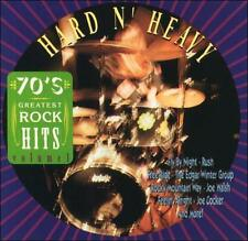 70's Greatest Rock Hits,Vol. 1:Hard N' Heavy by Various Artists CD (RUSH/FOGHAT)