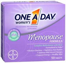 One-A-Day Menopause Formula Complete Womens Multivitamin 50 Tablets (Pack of 5)