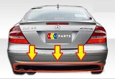 NUOVO Originale Mercedes Benz MB CLK Classe W209 AMG Styling Paraurti Posteriore Diffusore