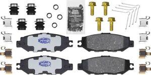 Disc Brake Pad Set-Ceramic Disc Brake Pad Rear Magneti Marelli 1AMV400613