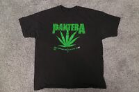 Pantera Original Pot Leaf T Shirt 90s Dimebag Darrell Phil Anselmo Metal Rare
