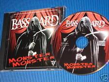 BASSTARD MONSTER MONSTER MAXI CD WIE NEU PICTURE DISC HIP HOP / RAP 10 TITEL