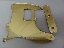 Tele Telecaster Gold Mirror Humbucking pickguard + control plate set Fender