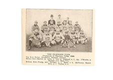 Idlewood Club Chartiers Valley 1906 Baseball Team Picture RARE